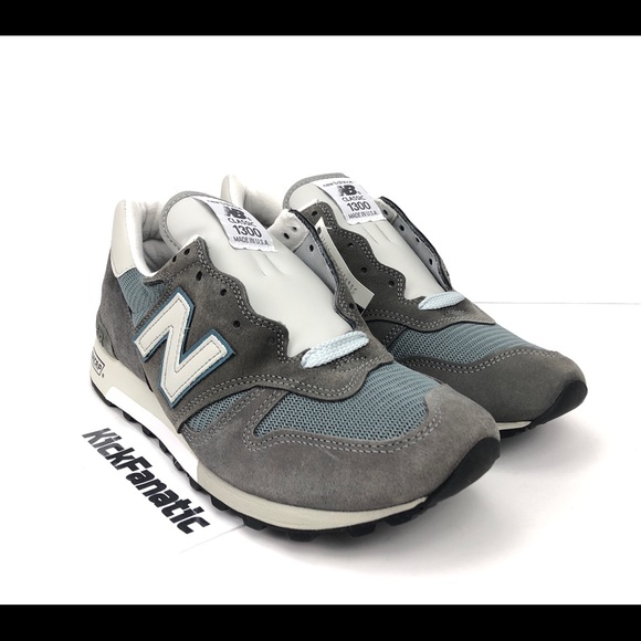 New Balance Heritage 1300 Made In USA Grey Blue NWT